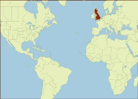 Spice Map - England