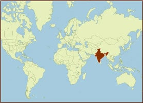 Spice Map - India