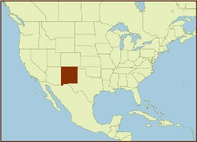 Spice Map - New Mexico