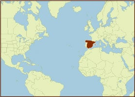 Spice Map - Spain